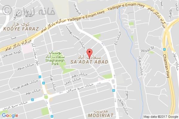 تصویر رهن دفتر کار سعادت آباد با کد 11867072